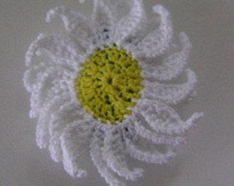 Small Daisy Barrette 1 1/2 Inch