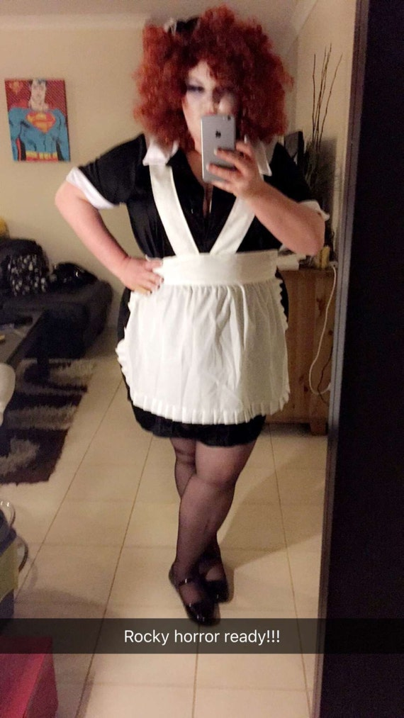 Magenta From Rocky Horror Picture Show Maid Costume Etsy