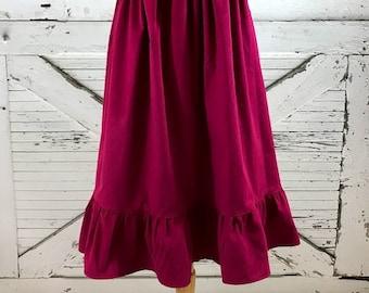 Custom Ladies Frontier Skirt in Misses and Plus Sizes