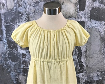 Size 8--Meghan's Peasant Dress