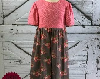 Spring Blooms Dress--Size 2-16