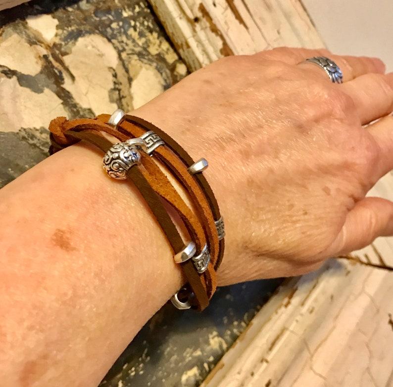 Wrap Bracelet Wrap Bracelets for Women Boho Wrap Bracelet image 0