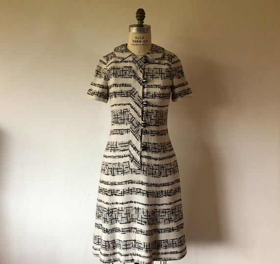 1950's Leslie Fay Day Dress