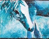 Blue - Original Abstract ...