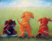 Dogs Giclee Reproduction ...