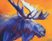 Moose Giclee Reproduction...