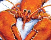 Lobster Giclee Print Repr...