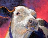 Curious Calf - Original P...