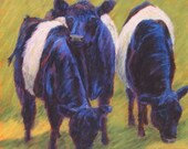 Cow Giclee Reproduction -...