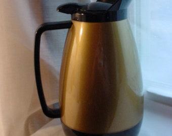 Vintage Thermo Serv Coffee Carafe Server Pitcher