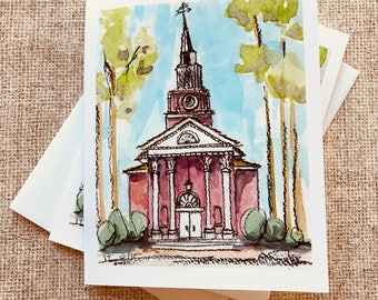 Village Chapel - Box of 10 cards