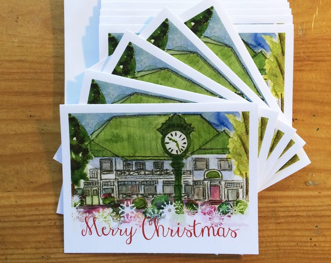 Christmas Cards - Department Store, Village of Pinehurst, NC