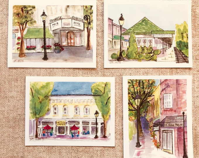 Southern Pines - Box of 8 Cards
