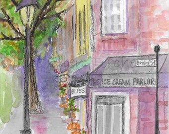 The Ice Cream Parlor on Broad Street, Southern Pines, NC