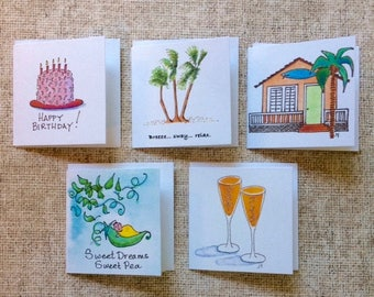 Square Gift Tags - All Occasions