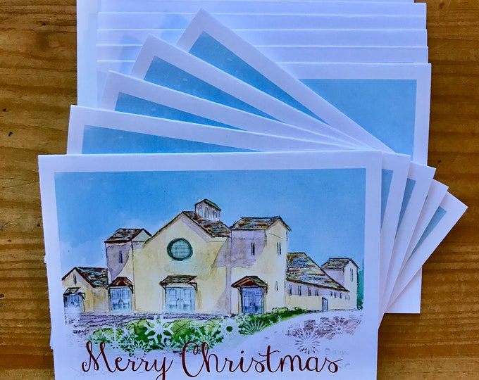 Christmas Cards - The Fair Barn, Village of Pinehurst, NC.