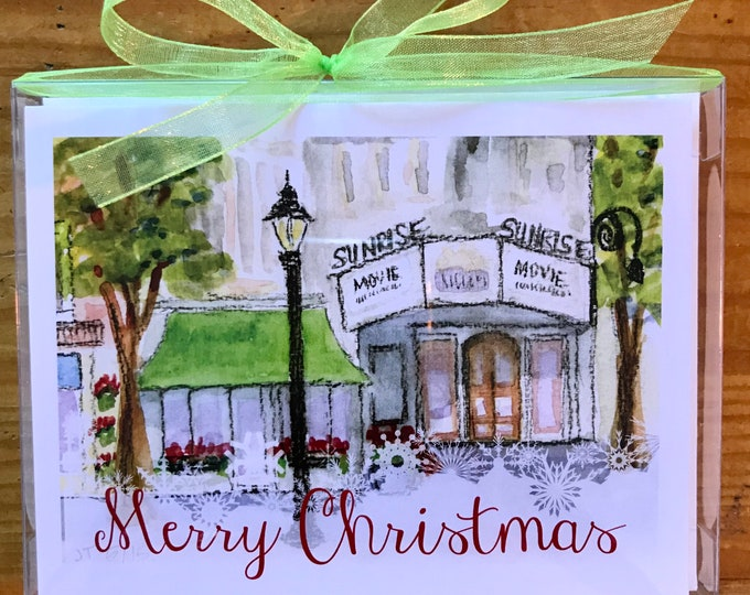 Upon Completion of Custom Rendering - 75 Christmas Cards