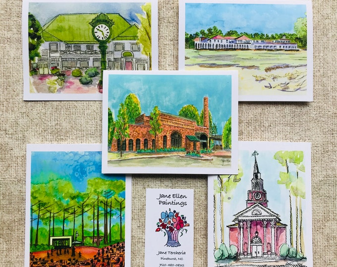Village of Pinehurst - Pack of 10 Cards