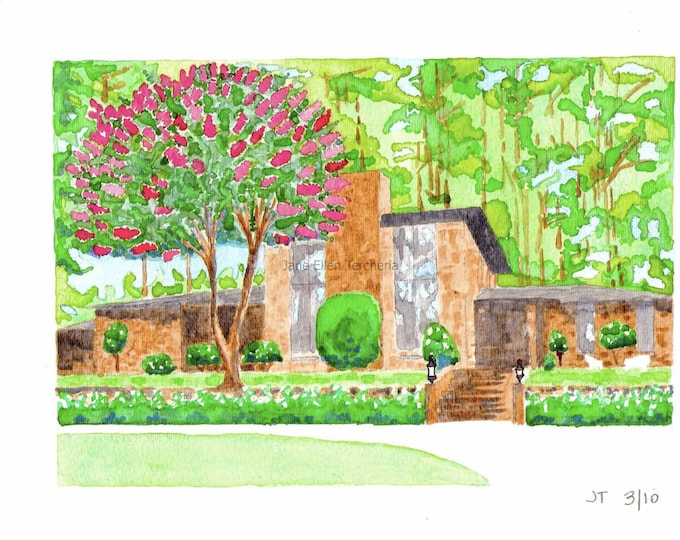 Custom Rendering - Home - 12 x 15