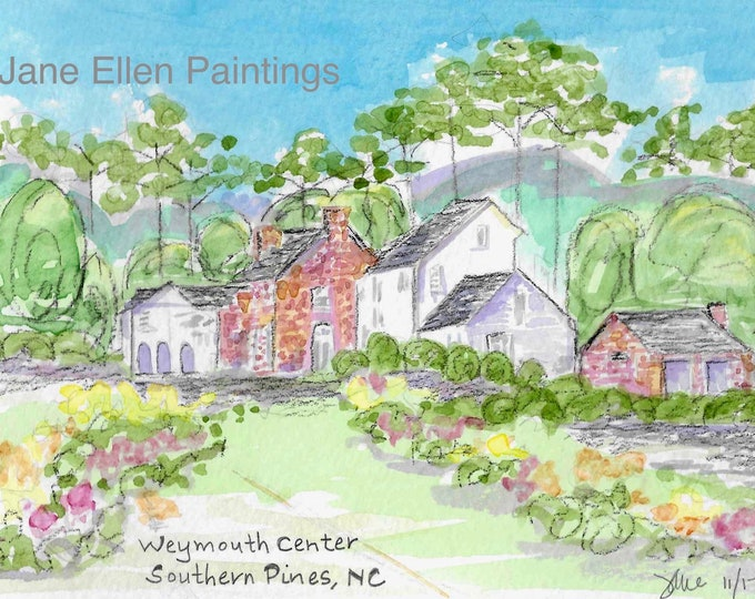 Weymouth Center, Southern Pines, NC Giclee Print