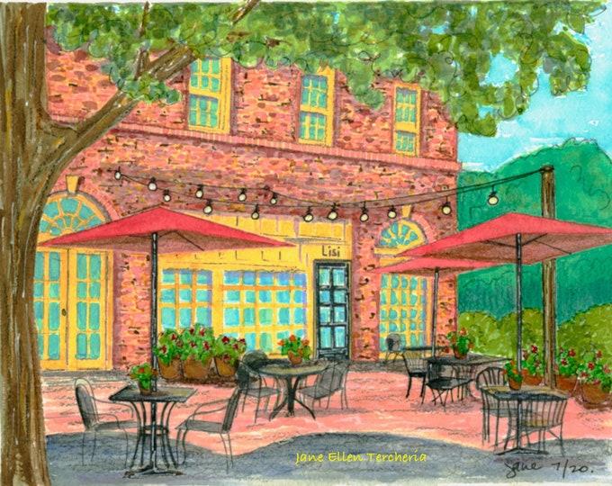 Lisi, Village of Pinehurst, NC Giclee Print