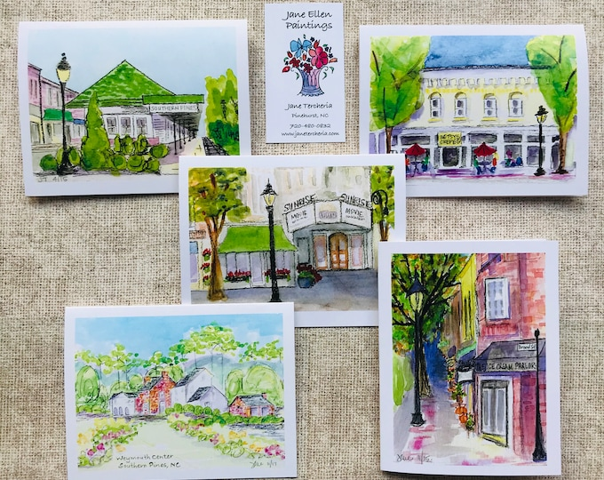 Southern Pines - Box of 10 Cards
