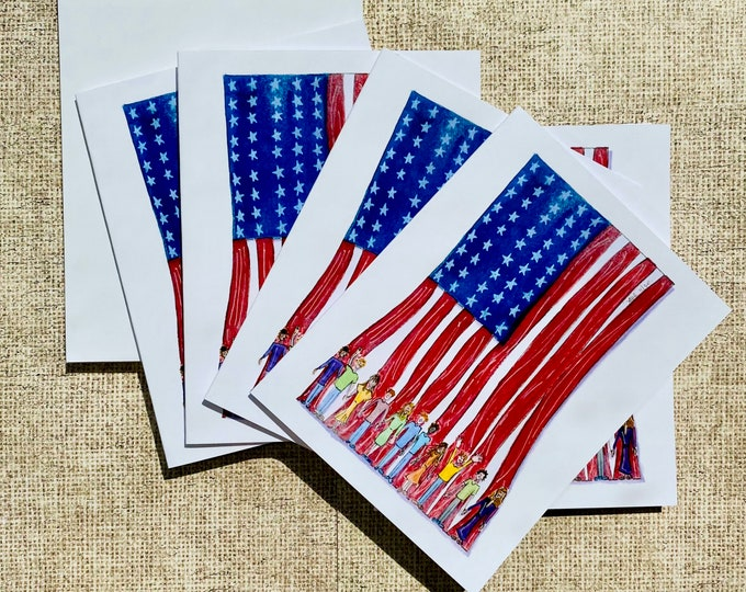 Rooting For America - Box of Cards