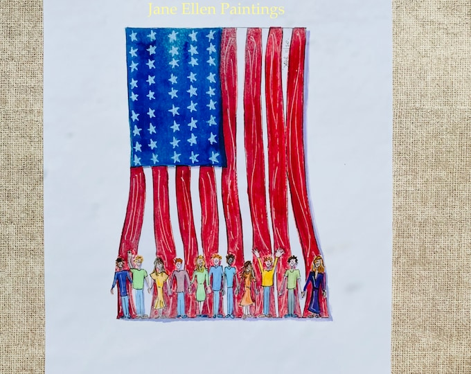 Rooting For America Giclee Print