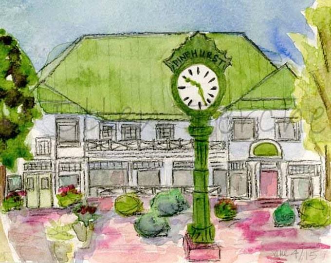 Department Store, Village of Pinehurst, NC Giclee Print
