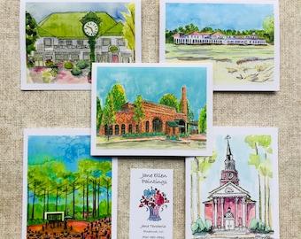 Village of Pinehurst - Pack of 10 Cards