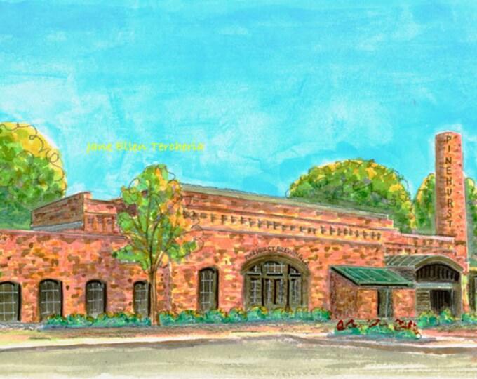 The Brewery - Pinehurst, NC Giclee Print