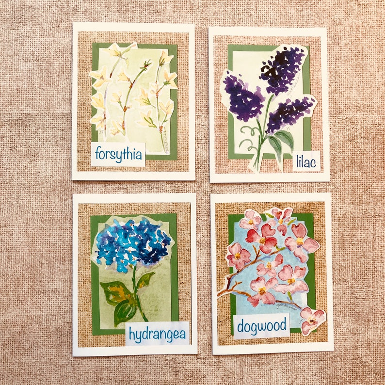 Box 8 Cards Southern Spring Flowers