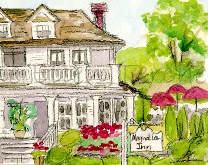 Magnolia Inn, Village of Pinehurst, NC Giclee Print