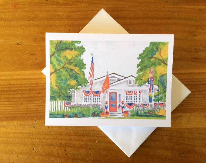 Upon Completion of Custom Rendering - 25 Notecards