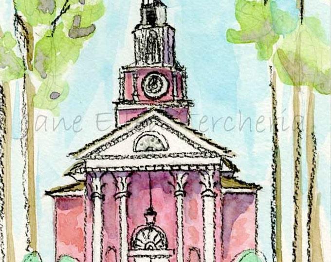 Village Chapel, Village of Pinehurst, NC Giclee Print