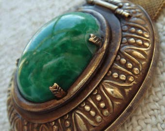 Odd and Beautiful Vintage Assemblage Pill Box Bracelet Unusual Marriage of Elements Defying Description Grunge Art