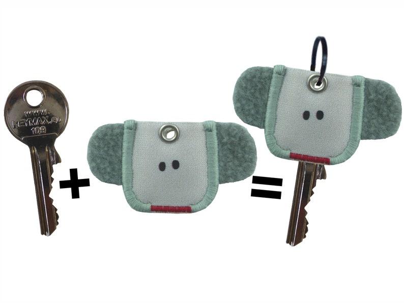 keycover keycap Schlüzi elephant image 0