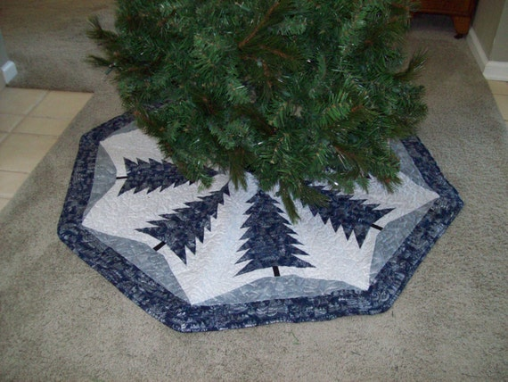 Quilted Christmas Tree Skirt 56