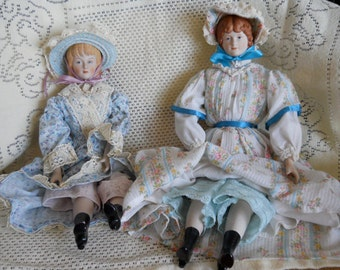 """Vintage """"Little Women"""" handmade doll from the 1970's (Amy...the youngest)"""