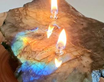 Labradorite Oil Candle 2 - 2 wick