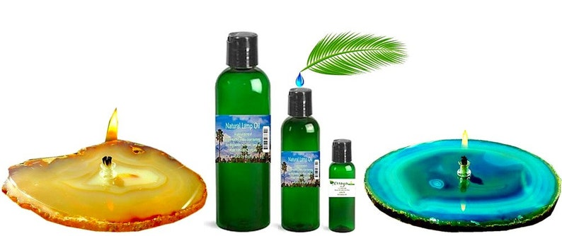 Lamp Oil  Natural Eco-Friendly Non Toxic & Made from image 1