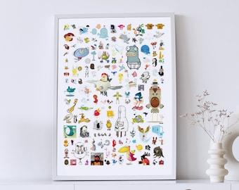 The Little Bird Project   Poster DIN A1 · Designkiosk