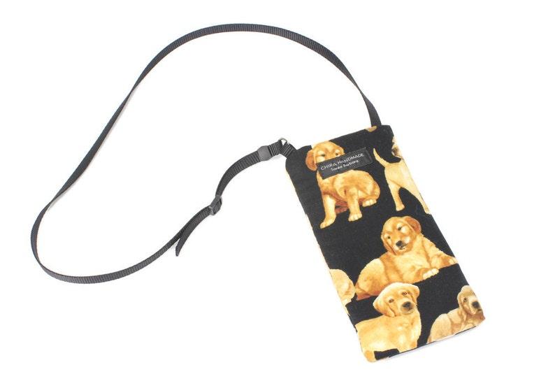 a1703aefb26 Eyeglass case for readers Golden Retriever Puppy Dog fabric