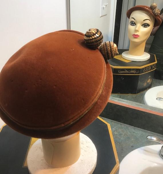 Vintage 1950's Chapeaux Made in France Fascinator… - image 2