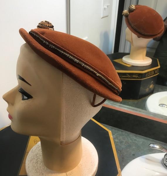 Vintage 1950's Chapeaux Made in France Fascinator… - image 4