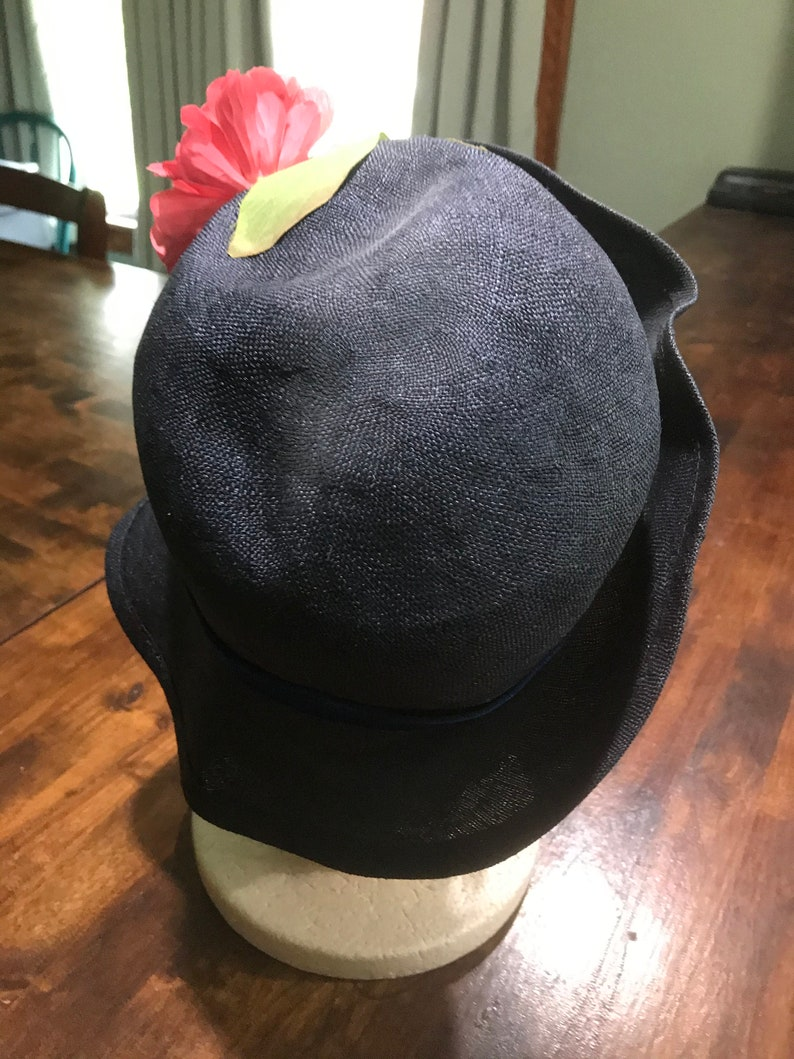 Vintage 1950s Betmar New York Cloche Hat