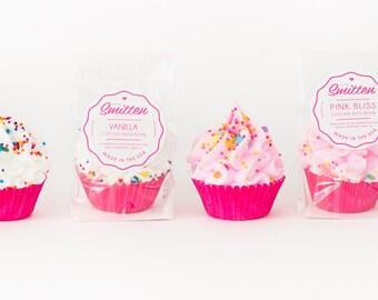 15 Pack of Mini Cupcake Bath Bombs