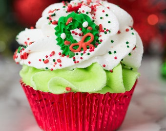 Buy One Get Two Free! Holiday Cupcake Bath Bomb