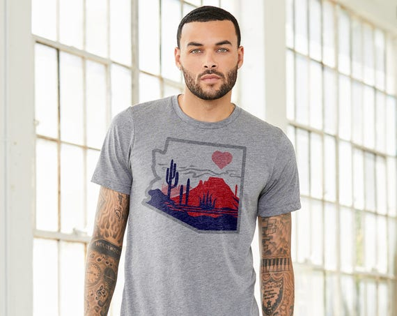 The Heart of the Desert: Adult's Crew Neck T-Shirt
