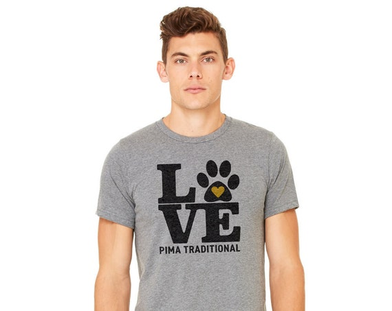Pima Traditional School Staff : Adult's Unisex Soft Blend T-Shirt